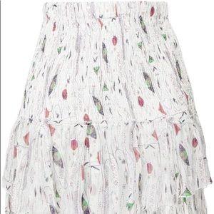 Isabel marant printed skirt size s (36)